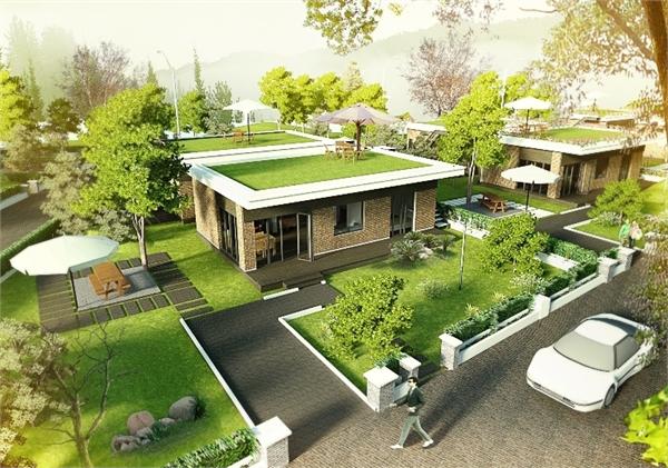 Quỹ đất xây dựng 25 căn nhà theo kiểu nông trại mini tại Củ Chi