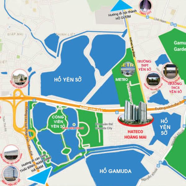 căn hộ dự án chung cư Hateco Hoàng Mai