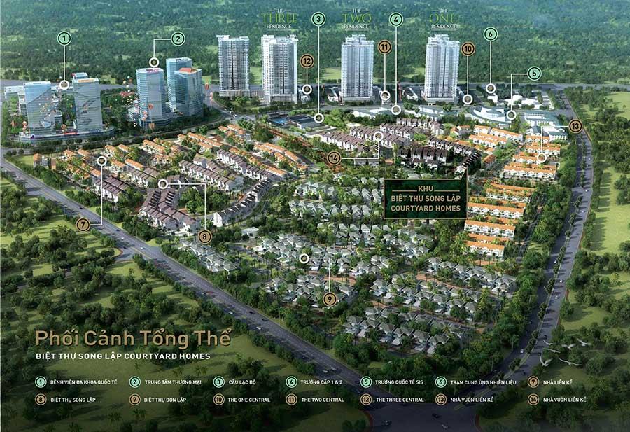 Biệt thự Gamuda Gardens SD5 với vị trí vàng siêu đắc địa