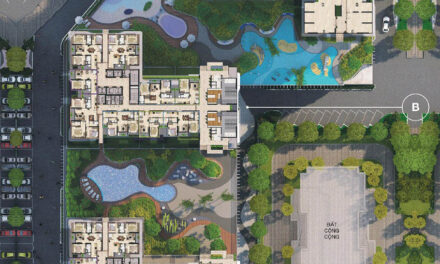Mặt bằng và các loại căn hộ The Zen Residence