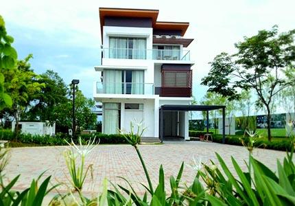 Dự án Gamuda Yên Sở sở hữu nhiều biệt thự đẳng cấp
