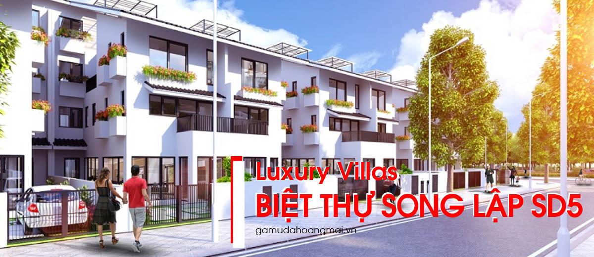 mua bán biệt thự song lập SD5, mua bán biệt thự Iris Homes tại Gamuda gardens