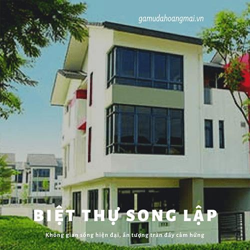 Bán biệt thự song lập tại Gamuda Yên Sở do chủ đầu tư Gamuda Land