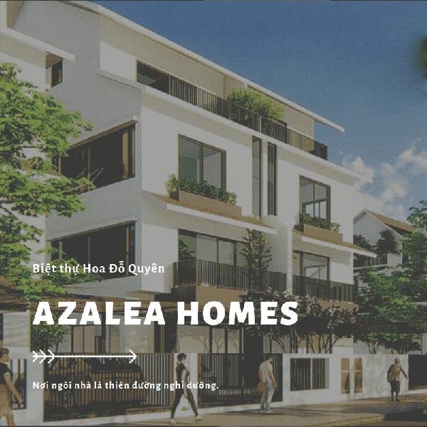 biệt thự hoa đỗ quyên hay còn gọi là biệt thự azalea