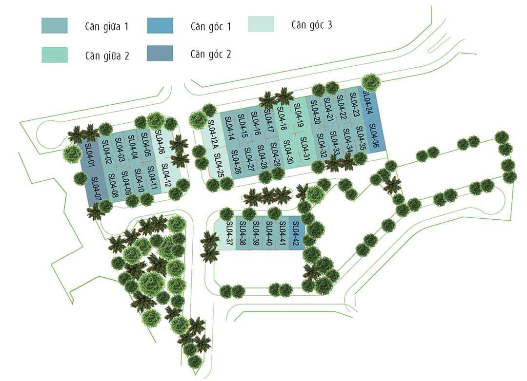 biệt thự SD42 azalea trong gamuda gardens