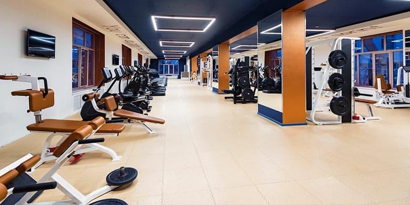 Phòng tập gym của The Zen Residence