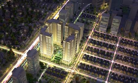 Hình ảnh tổng thể dự án Eco-Green City
